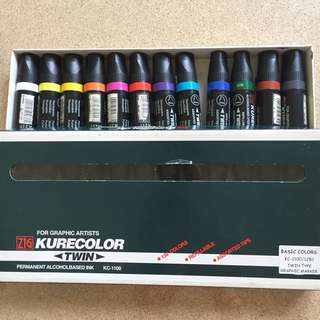 KURECOLOR Graphic Marker set