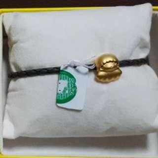 [LIMITED EDITION] GOLDHEARTxSANRIO Little Twin Stars Bracelet