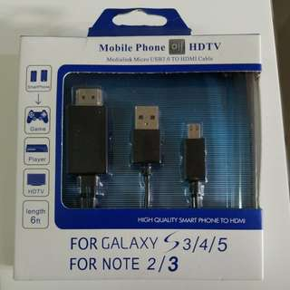 Medialink micro usb3.0 to hdmi cable