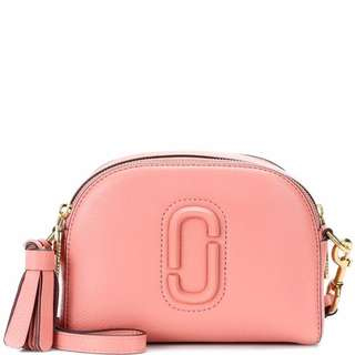 MARC JACOBS Shutter leather crossbody bag