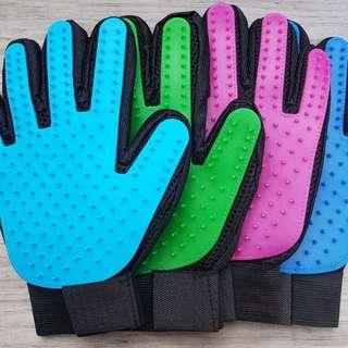 Pet Massage/hair removal groomer Glove