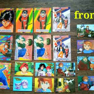collectible cards set