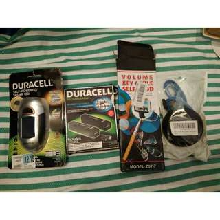 Bundle Pack Powerbank and Cables
