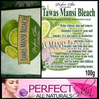 Perfect Skin Tawas Mansi soap and cream