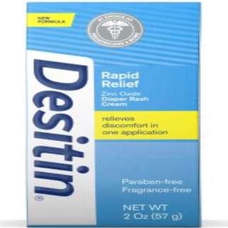Desitin Rapid Relief 2oz
