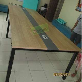 CT-4701 3.2 CONFERENCE TABLE WITH METAL LEGS--KHOMI