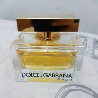 Authentic The One by D&G