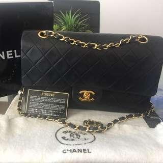 Authentic Chanel Vintage Medium Double Flap