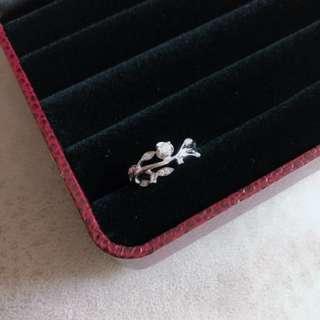 18k鑽石介指