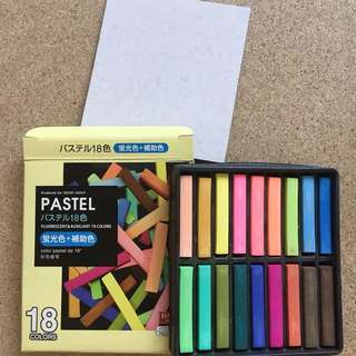 Daiso Pastel Colour (Basic & Fluorescent)