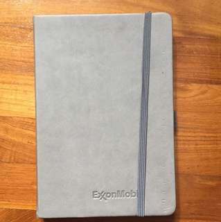 Notebook with planner