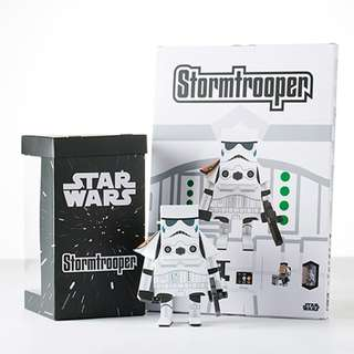 "Star Wars Stormtrooper Paper Craft 5"" (M Size: 13 CM) ~ MOMOT Toys"