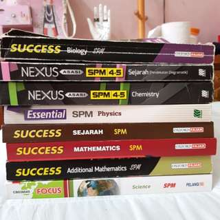SPM Reference Books Form 4 & 5