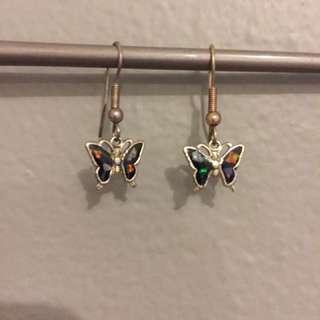 Butterfly earrings 🦋
