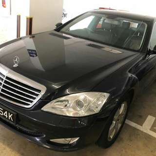 MERCEDES S350L 7G TRONIC 2008 SUPER CONDTION