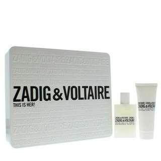 Zadig & Voltaire This is Her Eau de Parfum Gift set