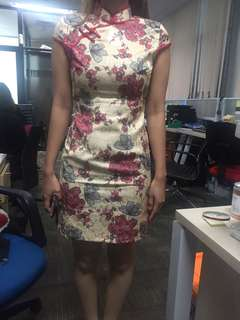 Cheongsam cream