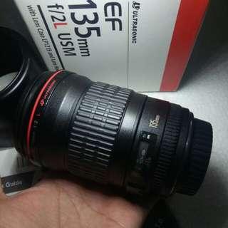 Canon 135mm f2 L
