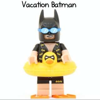 Lego Vacation Batman Movie Series 1 Minifigures 71017