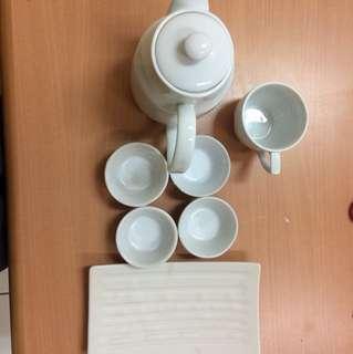 tea set kramik