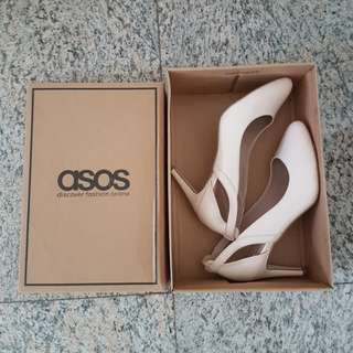 ASOS Nude Court Shoes