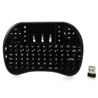 Genuine i8 2.4Ghz Wireless Mini Keyboard TouchPad for Smart TV or Tablets or PC