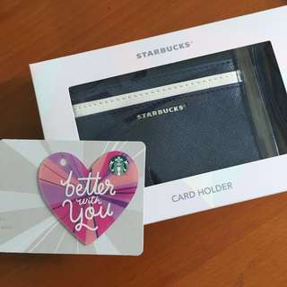 Starbucks Singapore - Starbucks Valentines Day Card & Starbucks Card holder