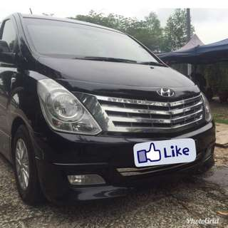 Hyundai Starex for Transfer and Tour Services (FREE WIFI)