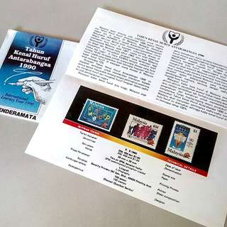 Presentation Pack International Literacy Year 1990