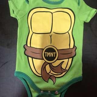 Nickolodeon onesie ninja turtle