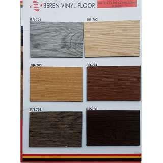 lantai vinyl beren motif baru