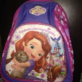 Sofia d first backpack (auth)