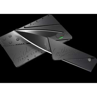 Sinclair Cardsharp Credit Card Size Folding Safety Knife
