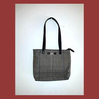 Original Ralph Lauren Houndstooth Tote Bag