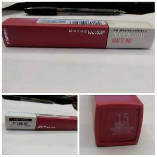 Maybelline Super Stay Matte Ink In Lover