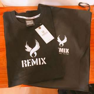 🚚 Remix 15' A/W Spray Wing Logo Tee 2016大年初一 全新 黑短T
