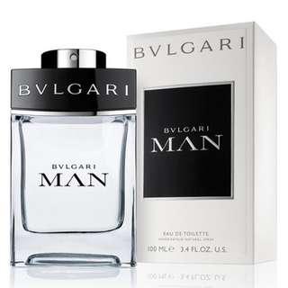 Bvlgari Man EDT for Men (100ml/Tester) Bulgari