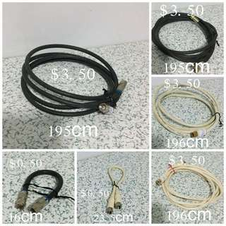 Antenna Cable/TV/Cable Modem