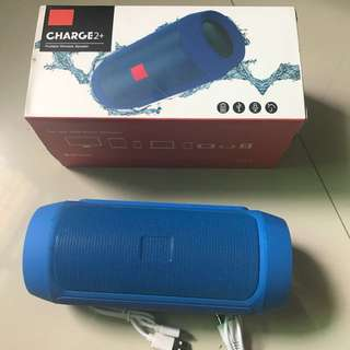 Portable wireless bluetooth speaker with USB charge out