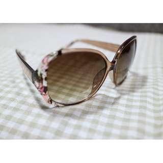 韓國 茶色復古墨鏡 精緻 時尚太陽眼鏡 晴天海邊 韓國墨鏡 氣質時尚 附眼鏡盒 #新春八折