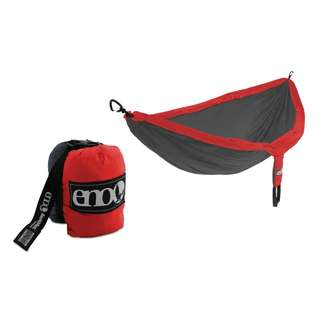 ENO Portable SingleNest Hammock Red/Charcoal ~ ENO