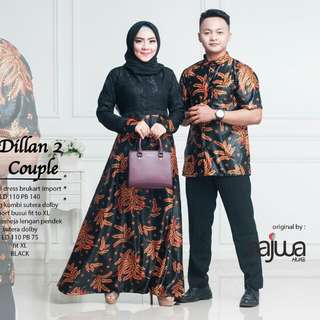 Couple Batik Dilan by Najwa