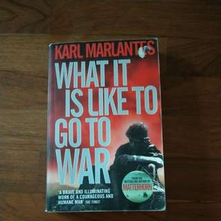 What it is like to go to War (History Book)