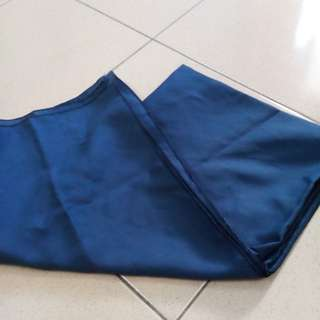 Bawal crepe (Royal Blue)