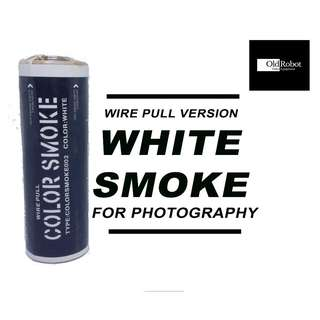 White Color Wire Pull Smoke for Photography