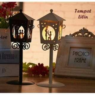 Tempat lilin romantic