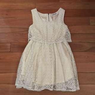 White Favour Dress 🌸