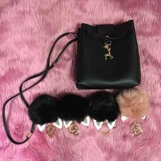 Deer sling bag