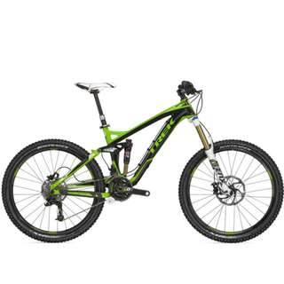 "TREK Slash 9 15.5"" and 17.5"" Black/Lime Green BICYCLE  -- 50% DISCOUNT"