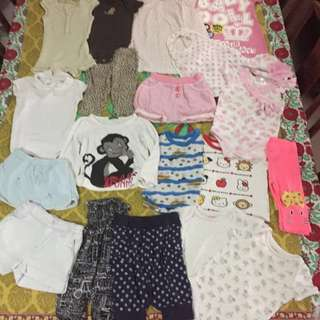 Great deal, Big lot baby clothes, many different brands